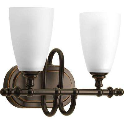 Revive Collection 2-Light Antique Bronze Bath Light