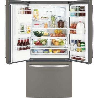 17.5 cu. ft. French Door Refrigerator in Slate, Counter Depth and Fingerprint Resistant