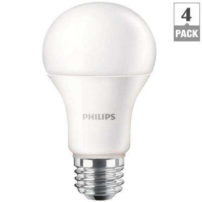 100W Equivalent Soft White A19 LED Light Bulb (4-Pack)
