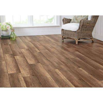 Sonoma Oak 8 mm Thick x 7-2/3 in. Wide x 50-5/8 in. Length Laminate Flooring (21.48 sq. ft. / case)