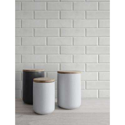 Subway Tile Vinyl Strippable Roll (Covers 30.75 sq. ft.)
