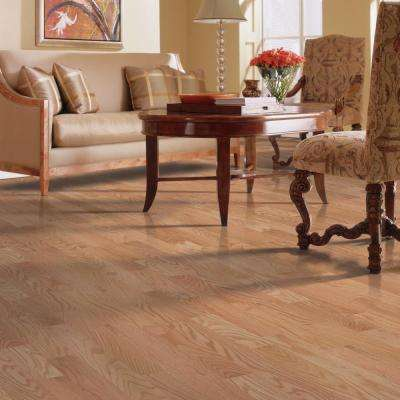 Raymore Red Oak Natural 3/4 in. Thick x 3-1/4 in. Wide x Random Length Solid Hardwood Flooring (17.6 sq. ft. / case)