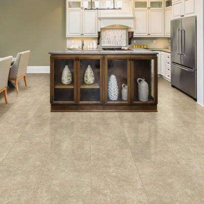 Breezy Stone 16 in. x 32 in. Luxury Vinyl Plank Flooring (24.89 sq. ft. / case)