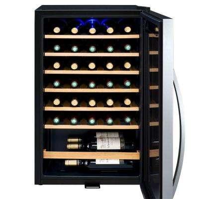 34-Bottle Wine Refrigerator