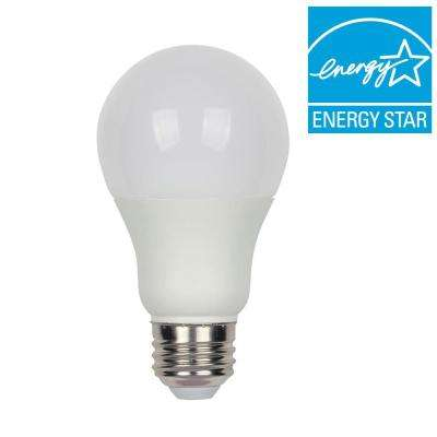 40W Equivalent Bright White A19 Omni Dimmable LED Light Bulb
