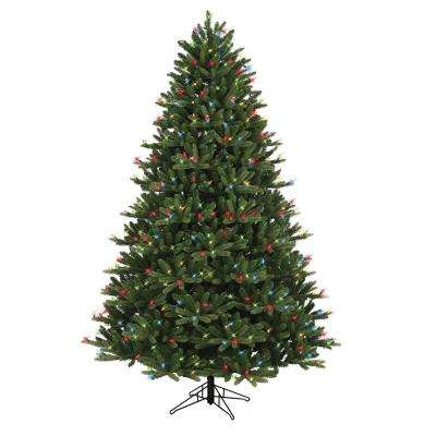 7.5 ft. Just Cut Ez Light Frasier Fir Dual Color LED Artificial Christmas Tree