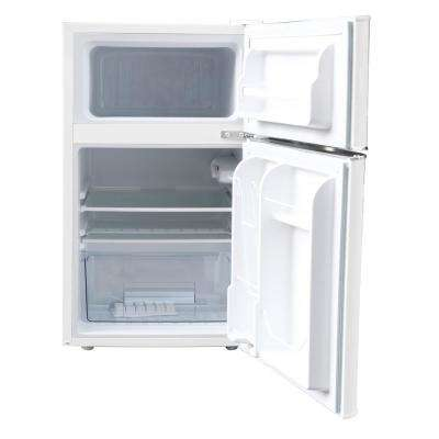 Retro 3.2 Cu. Ft. 2 Door Mini Fridge in White