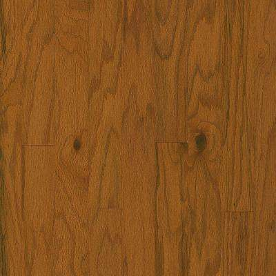 Plano Oak Gunstock 3/8 in. Thick x 3 in. Wide x Varying Length Engineered Hardwood Flooring (30 sq. ft. / case)