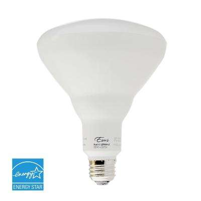 85W Equivalent Warm White (2700K) BR40 Dimmable MCOB LED Flood Light Bulb