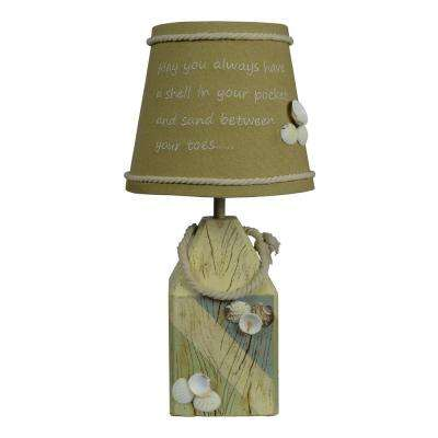 14 in. Brown Novelty Lamp