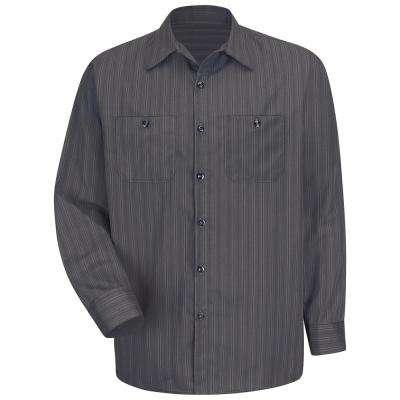 Men's Industrial Stripe Work Shirt