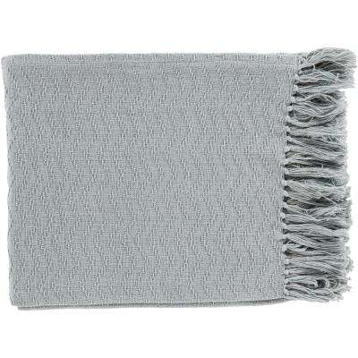 Stanley Slate Cotton Throw