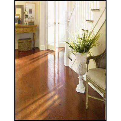 Cherry Mocha 3/8 in. Thick x 4-1/4 in. Wide x Random Length Engineered Click Wood Flooring (480 sq. ft. / pallet)