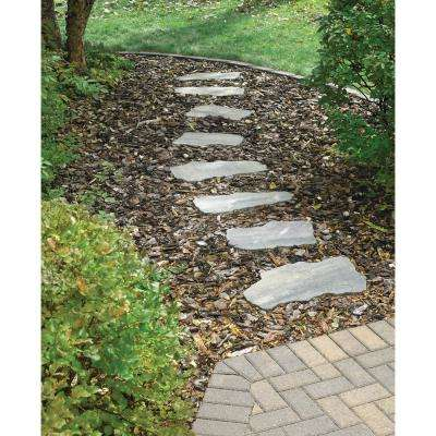 18 in. x 18 in. x 1.75 in. Charcoal/Tan Irregular Concrete Step Stone
