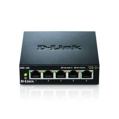 DGS-105 5-Port Desktop Switch