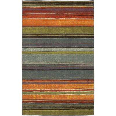 Rainbow Multi 1 ft. 8 in. x 2 ft. 10 in. Accent Rug