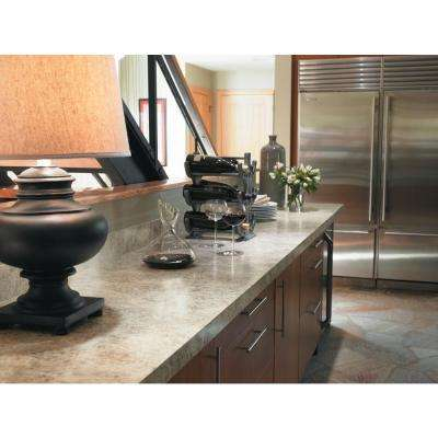 4 ft. x 8 ft. Laminate Sheet in Belmonte Granite with Matte Finish