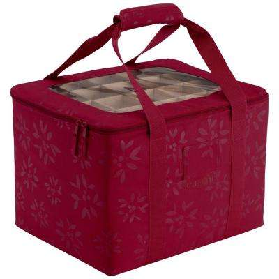 Seasons Ornament Organizer and Storage Bin