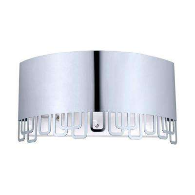 Fenella 1-Light Stainless Steel Sconce