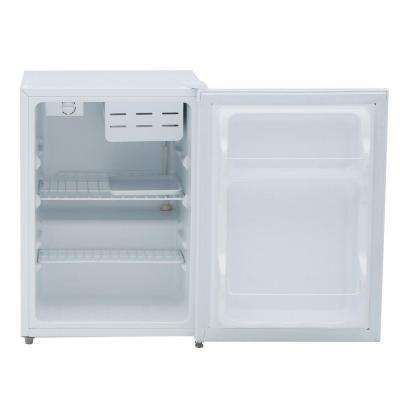 2.4 cu. ft. Mini Refrigerator in White, ENERGY STAR