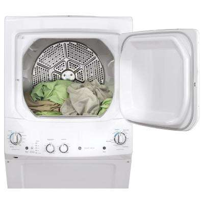 White Laundry Center with 3.8 cu. ft. Washer and 5.9 cu. ft. 120-Volt Vented Gas Dryer