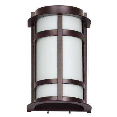 Shock 1-Light Oil Rubbed Bronze Outdoor Wall Lantern