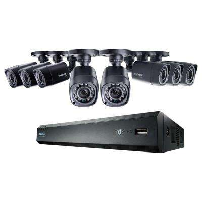 8-Channel 720p High Definition DVR with HD Indoor/Outdoor Wired Cameras, 1TB HDD and FLIR Cloud Connectivity