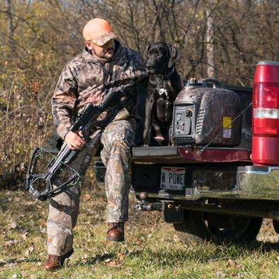 iGen TrueTimber Camo 2,200-Watt Super Quiet Gas Powered Inverter Generator with Parallel Capability