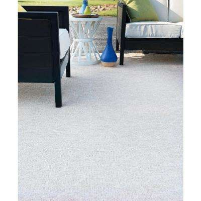 Serenity Cream 7 ft. 8 in. x 7 ft. 9 in. Modern Square Area Rug