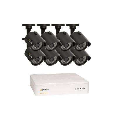HeritageHD Series 8-Channel 720p 1TB Video Surveillance System with 8 HD Cameras, 100 ft. Night Vision