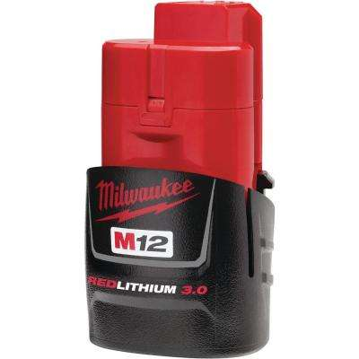 M12 12-Volt REDLITHIUM 3.0Ah Compact Battery Pack