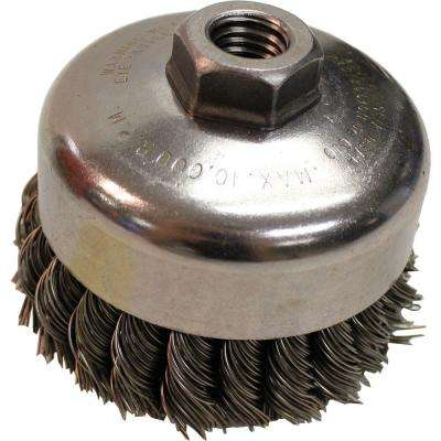 4 in. Knot Wire Cup Brush