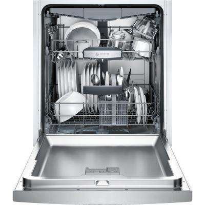 800 Series 24 in. ADA Front Control Tall Tub Dishwasher in Stainless Steel with Stainless Steel Tub and 3rd Rack, 44dBA