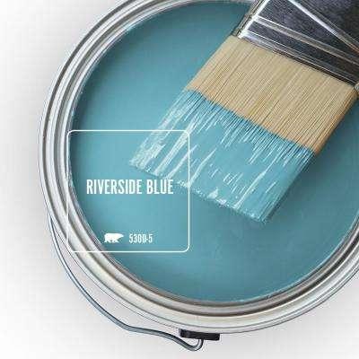 Riverside Blue Paint Colors Paint The Home Depot