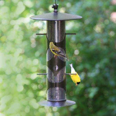 Upside Down Goldfinch Hanging Bird Feeder - 3 lb. Capacity