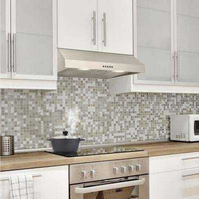 30 in. W Under Cabinet Range Hood in Stainless Steel
