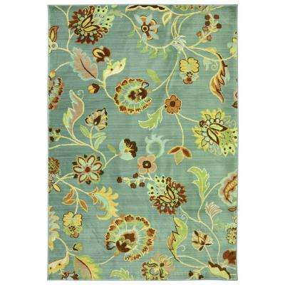 Sol Star Green Slate 9 ft. 6 in. x 12 ft. 11 in. Area Rug