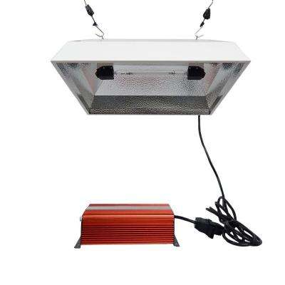 1000-Watt Double Ended Electronic HPS 120/240 Square Reflector Remote Ballast Lighting System