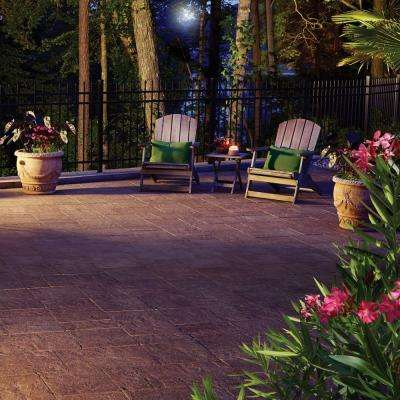 Capriana Patio on a Pallet 10 ft. x 10 ft. x 2 in. Tahoe Step Stone (72-Piece/ 98 sq. ft./ Pallet)