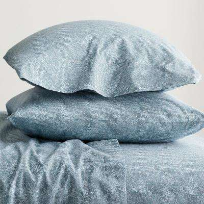 Lofthome Maze Organic Percale Pillowcase (Set of 2)