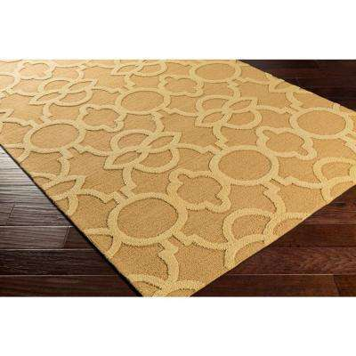 Marigold Arabella Gold 8 ft. x 11 ft. Indoor Area Rug