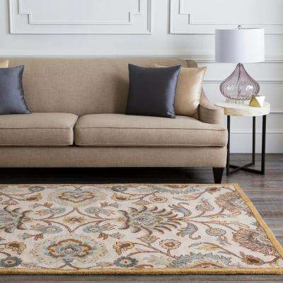 Cambrai Taupe 3 ft. x 8 ft. Indoor Runner Rug