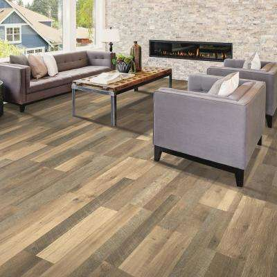 Outlast+ Natural Rebel Oak 10 mm Thick x 7-1/2 in. Wide x 54-11/32 in. Length Laminate Flooring (16.93 sq. ft./case)