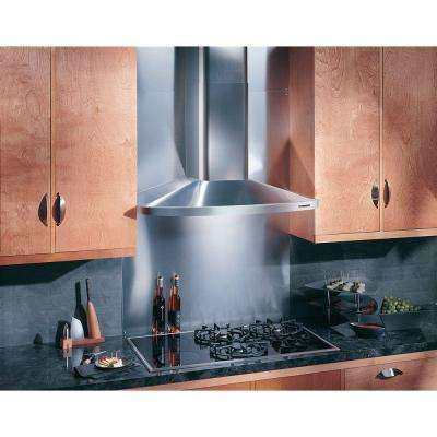 Elite RM52000 30 in. Convertible Wall Mount Chimney Range Hood with Light in Stainless Steel