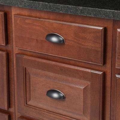 West Side 3 in. Center-to-Center Oil-Rubbed Bronze Cup Cabinet Pull