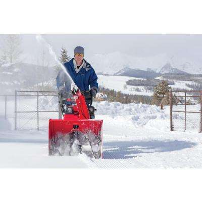 28 in. Hydrostatic Wheel Drive 2-Stage Snow Blower with Electric Joystick Chute Control