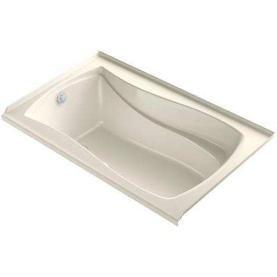 Mariposa 5 ft. Air Bath Tub in Biscuit