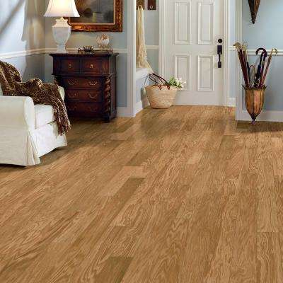 Natural Maple 3/8 in. Thick x 5 in. Wide x Random Length Click Lock Engineered Hardwood Flooring (22 sq.ft/case)