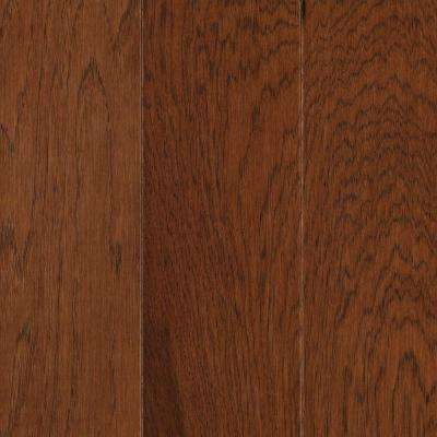 Pristine Hickory Warm Cherry Engineered Hardwood Flooring - 5 in. x 7 in. Take Home Sample