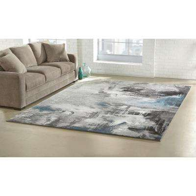 Journey Gray 2 ft. x 7 ft. Runner Rug